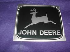 JOHN DEERE DECALS IN FOUR DIFFERENT COLORS MEASURE 4 1/2 X 3 7/8