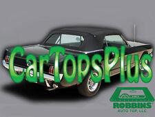 1964-1966 Mustang Convertible Top & Plastic Window, Black Vinyl