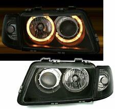 OFFER Headlights AUDI A3 8L 96-00 Angel Eyes Black IT LPAU10EM XINO IT