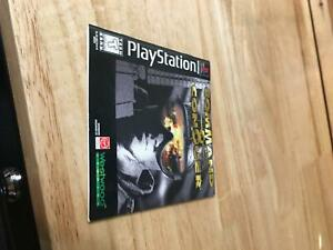 Command & Conquer Playstation 1 PS1 Manual Instruction Booklet Only