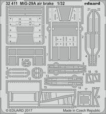 Eduard PE 32411 1/32 Mikoyan MiG-29A Fulcrum detalles de freno de aire Trumpeter