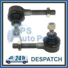 2x Peugeot 307 309 504 505 Partner 1.1 1.4 1.6 1.8 1.9 2.0 Outer L&R Tie Rod End