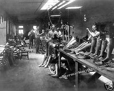 Photograph Artificial Leg Factory The J.E.Hanger Shop Washington DC 1917c 8x10