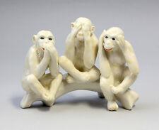 Porzellan Figur Die 3 weisen Affen Ens H12cm 9941145