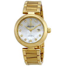Omega De Ville 18 Carat Yellow Gold Ladies Diamond Watch 425.60.34.20.55.003