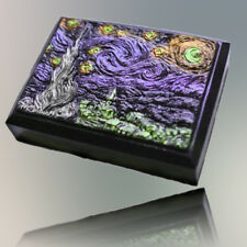 JM Dark Starry Night Soap mold 2d silicone molds for soap handmade silicone mold