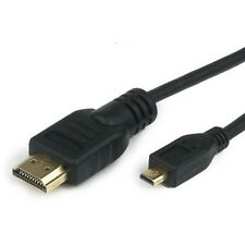 6ft Micro HDMI TV Cable for Sony Xperia  Neo Arc Ion LT22i LT26i LT28i