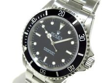 Auth ROLEX Submariner 14060M Black P222684 Men's Wrist Watch