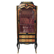 BOULLE FRANCE BOULLE STYLE GLASS CASE #MB800
