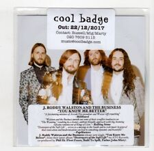 (IC378) J Roddy Walston & The Business, You Know Me Better - 2017 DJ CD
