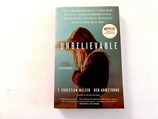 Unbelievable Ken Armstrong & T. Christian Miller 2019-Sc/1st/New Condition.