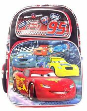 """Disney 95 Radiator Springs Cars 16"""" inches Backpack for Kids Licensed Product"""