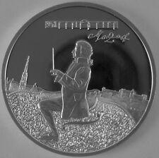 """Österreich 100 Schilling 1991 Silber Casinos Austria """"W.A. Mozart"""""""