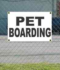 2x3 PET BOARDING Black & White Banner Sign NEW Discount Size & Price FREE SHIP