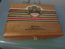 ASHTON CABINET BELICOSO VINTAGE LIMITED EDITION MANCAVE WOODEN WOOD CIGAR BOX