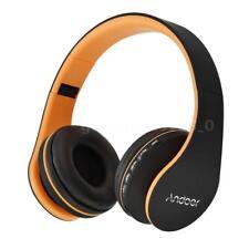 Pliable Casque Bluetooth Sans fil Stéréo HIFI Écouteur avec Microphone FM MP3 TF