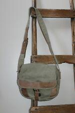 L.L. Bean~Canvas Leather~Field Bag~Ammo~Messenger~Adjust able Strap~#0Amni~Pocket