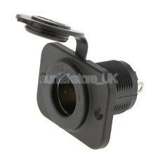 12V/24V Motorcycle Marine Car Cigarette Lighter Power Socket Plug Adapter