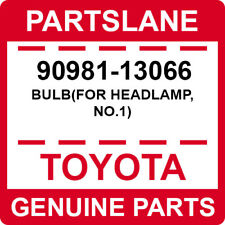 90981-13066 Toyota OEM Genuine BULB(FOR HEADLAMP, NO.1)
