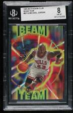 1995-96 Topps Stadium Club Beam Team Michael Jordan #B14 BGS 8 HOF