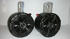 "ATV UTV KICKER 6 1/2"" Stereo Speakers Wakeboard Tower Can Am Razor Rhino Radio"