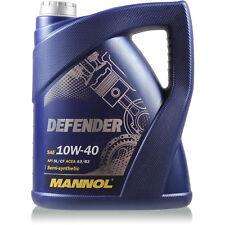Original MANNOL 1x5 Liter Defender 10W-40 API SL/CF Öl Motoröl MN7507-5