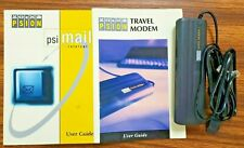 Psion Travel Modem with User Guide and psi mail internet User Guide