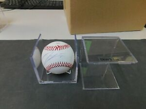 DEREK LAW Autographed MLB Baseball. Signed at spring training 2017