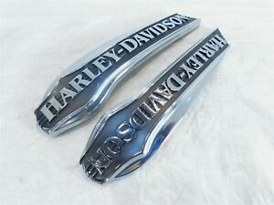 Harley Davidson Electra Glide Ultra Classic Fuel Gas Petrol Tank Emblem Badges