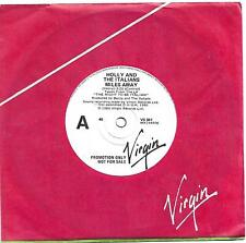 Holly and the Italians Miles Away Virgin promo 45 record (1980)