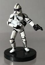 Star Wars Miniatures Clone Trooper Gunner Revenge Sith Republic 8 Micro 11/60