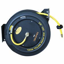 Black Bull AHAR100 100 Foot Retractable Air Hose Reel with Auto Rewind
