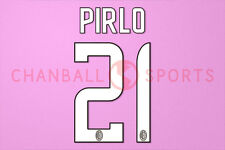 Pirlo #21 2008-2009 AC Milan Homekit Nameset Printing