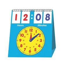 Time Flip Chart - Educational - 1 Piece