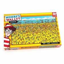 Where's Wally Junior On the Beach 250 Piece Childrens Jigsaw Puzzle UG5935