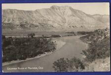 RPPC Colorado River at Palisade Colorado Sanborn Real Photo Postcard
