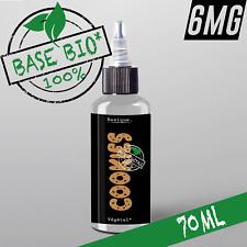 E-liquide 6mg Bio* COOKIES 50%|50% 70ml Cigarette électronique 🔥PRIX PROMO 🔥