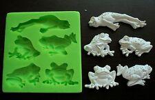Silicone Mould / Frogs / Sugarcraft Cake Decorating Fondant / fimo mold