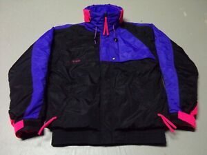 Men's Columbia Criterion Radial Sleeve zip front  3-1 hooded winter Ski jacket M
