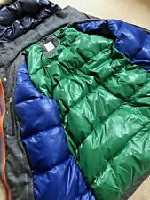 PAUL SMITH MAINLINE QUILTED DUCK DOWN FILLED WOOL PARKA RETAIL £925 SIZE S/M