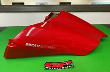Ducati 749/999 (2003-2005) Tail Fairing Passenger Seat Cover Red