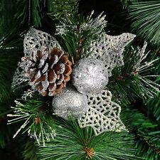 Christmas Pine Cones Baubles Xmas Tree Decorations Ornament Home Decor liau