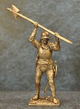 Tin Soldiers * Middle Ages * Swiss halberdier, 15th century * 54-60 mm