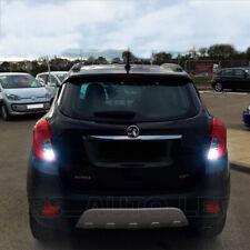 2x T15 W16W Bulbs LED White Reverse Bright 12smd Canbus Vauxhall Mokka 2012-2018