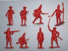 Marx Unpainted Plastic Vintage Toy Soldiers