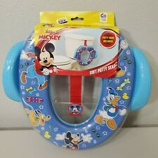 New Disney Mickey Mouse Soft Potty Toilet Training Seat With Hook skate boards
