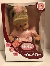 Gotz Muffin 13, Blonde Ponytail and Blue Eyes