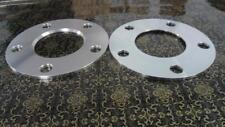 Four hub centric spacers bolt pattern 5 x 112mm CB 57.1mm thickness 7MM