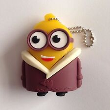 1 New Cute Novelty Minion In Coat, 128MB USB Flash Drive Memory Stick
