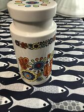 8 Inch Porcelain Lord Nelson Pottery Gaytime Storage Jar Sixties retro.